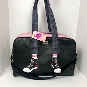 Betsey Johnson sneakers legs Weekender Bag Luggage